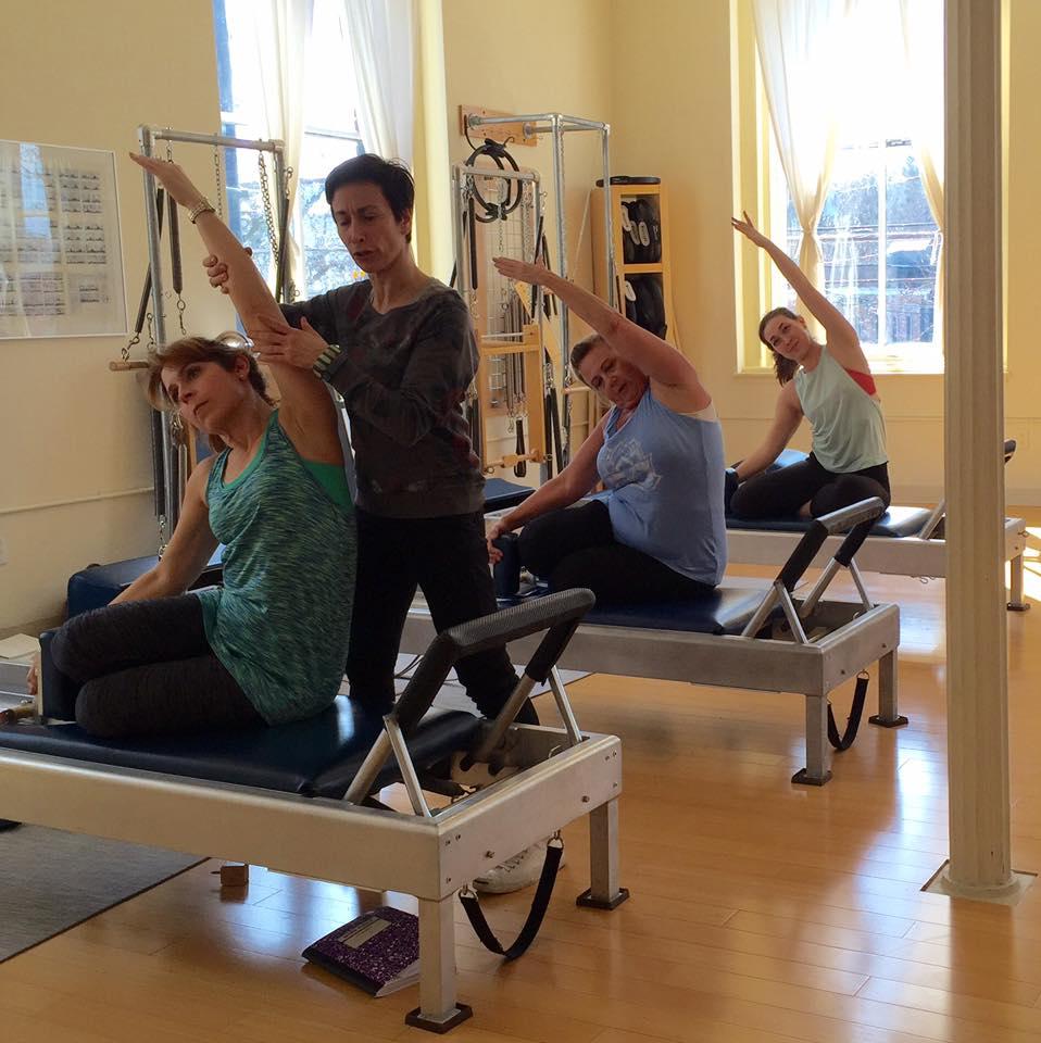 April teacher training recap rhinebeck pilates pilates teacher training pilates certification xflitez Choice Image