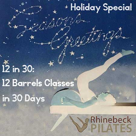 Pilates Barrel Virtual Online Classes Package