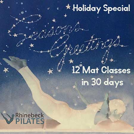 Virtual Pilates Mat Online Mat Classes Package