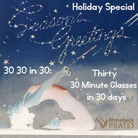 Ultimate 30 Virtual Pilates Online Classes Package
