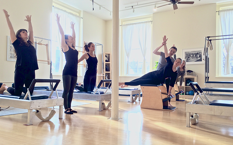 Rhinebeck Pilates Studio teaches pilates in the Hudson Valley