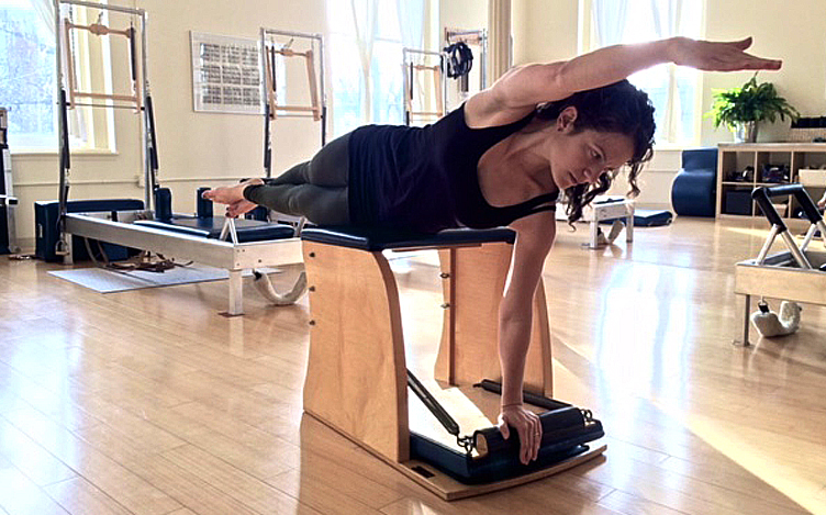 Elaine Ewing is now certified by the New York Pilates Studio ...