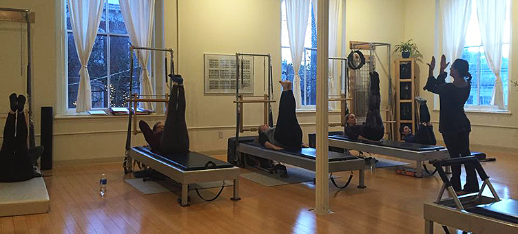 First Teacher Training Program at Rhinebeck Pilates.