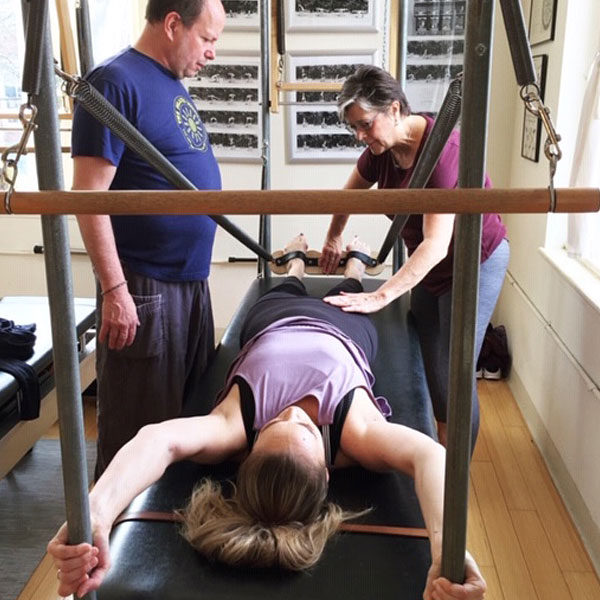 authentic pilates teacher seminar series