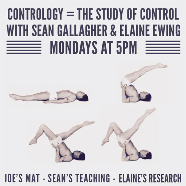 The Contrology Series 34 pilates exercises with Sean Gallagher and Elaine Ewing