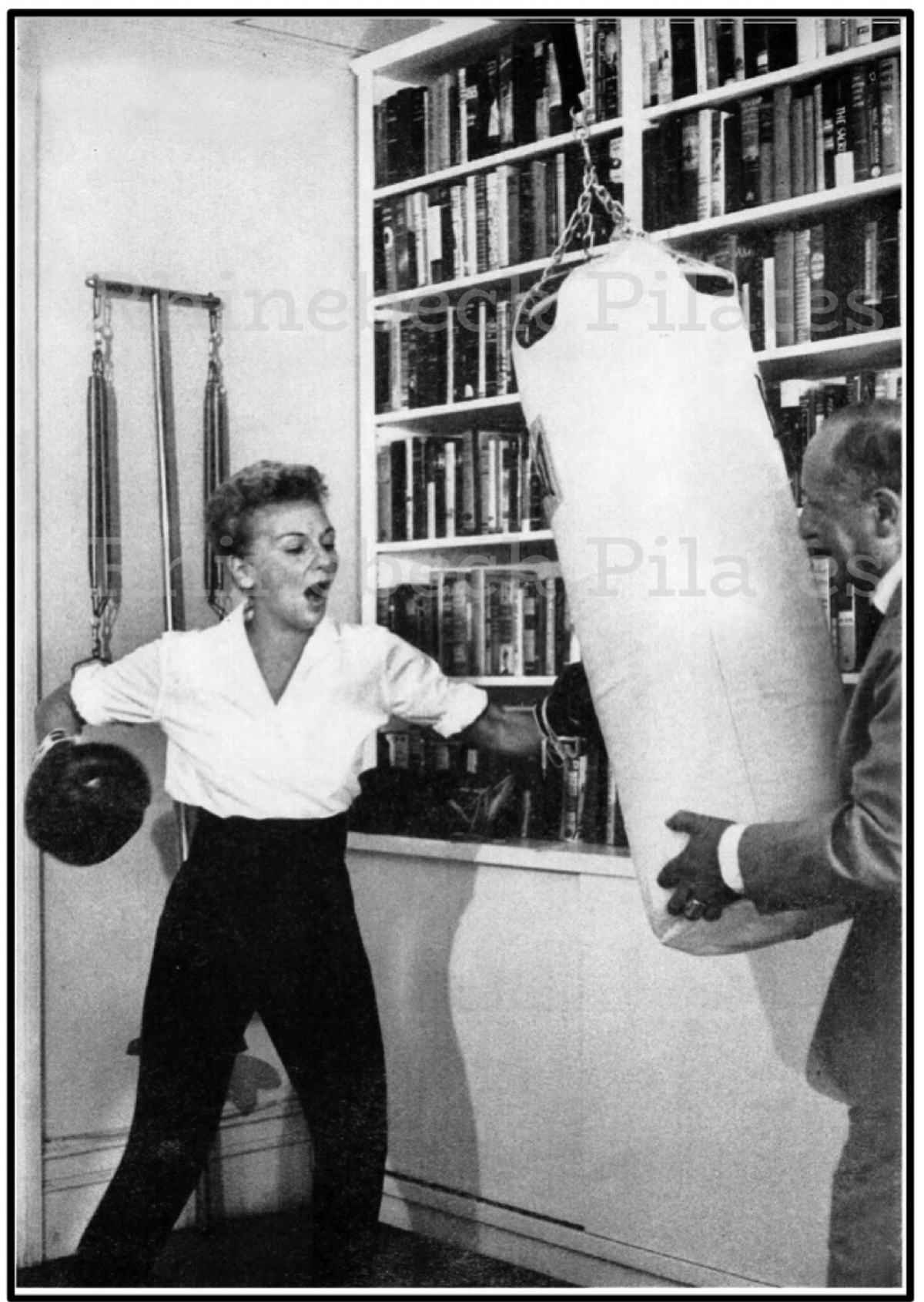 Mary Martin boxing singing archive photo