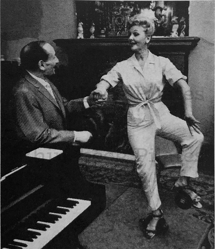 Mary Martin and William Herman archive photo