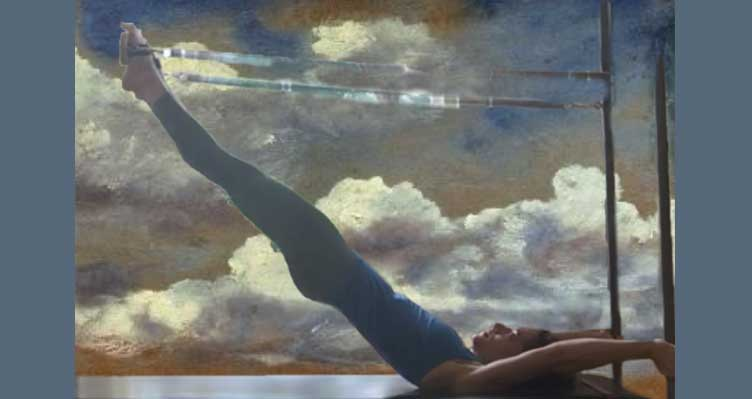 Airplane board and cadillac ending pilates virtual online class