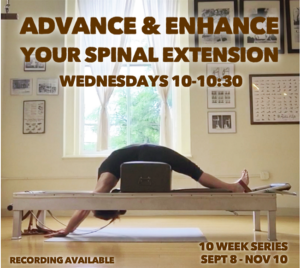 Spinal Extension Online Virtual Class