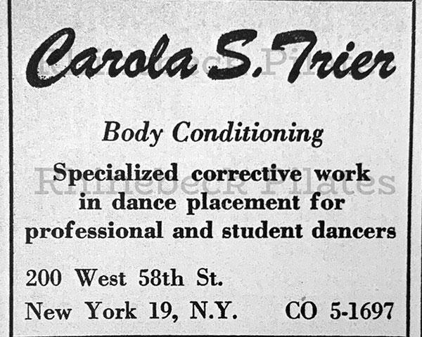 Contrology Advertisement archive photo